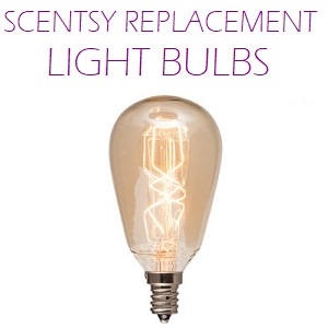 Scentsy Replacement Light Bulbs