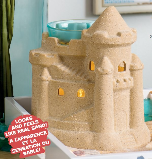 Summer Sandcastle - July 2017 Scentsy Warmer Of The Month