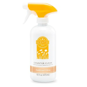 Sunkissed Citrus Scentsy Counter Cleaner