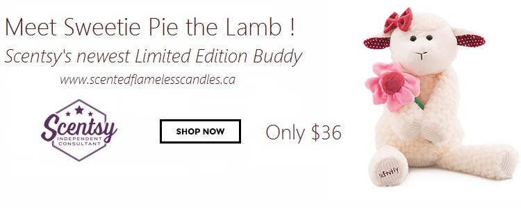 Sweetie Pie the Lamp - Scentsy Buddy