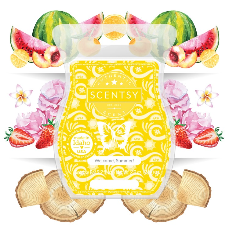 Welcome Summer Scentsy Wax Bar